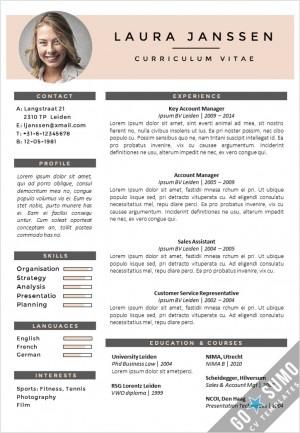 CV Template Milan, cv design, creative cv