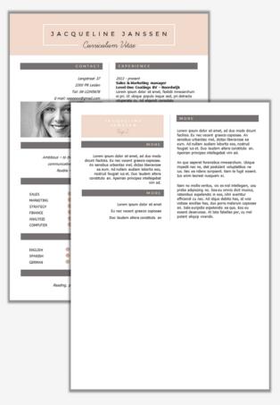 CV New York second page