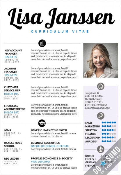 CV Template Sydney