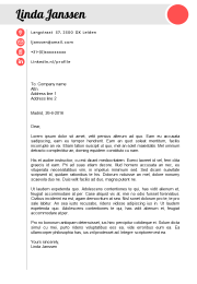 cover letter template Madrid