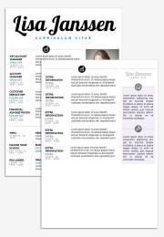 CV Template Sydney 2nd page