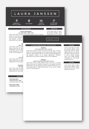 Tokyo Second page Curriculum Vitae