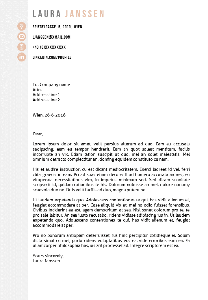Cover-letter-template-Vienna-G Cover Letter For Cv General on british standard, how cc someone, together your,
