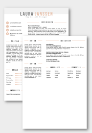 CV template Salzburg