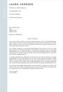 Cover Letter Template Melbourne